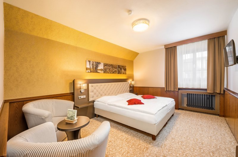 Revitalizace pokojů v Hotelu Zlatá hvězda